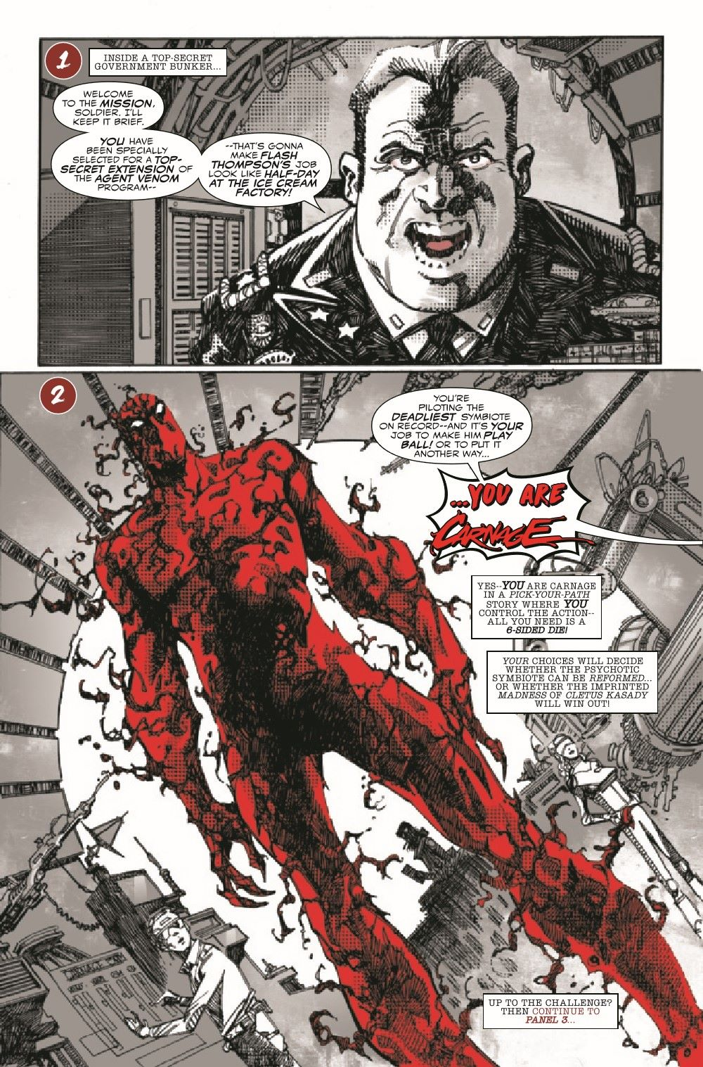 CARNBLKWHBL2021001_Preview-6 ComicList Previews: CARNAGE BLACK WHITE AND BLOOD #1 (OF 4)