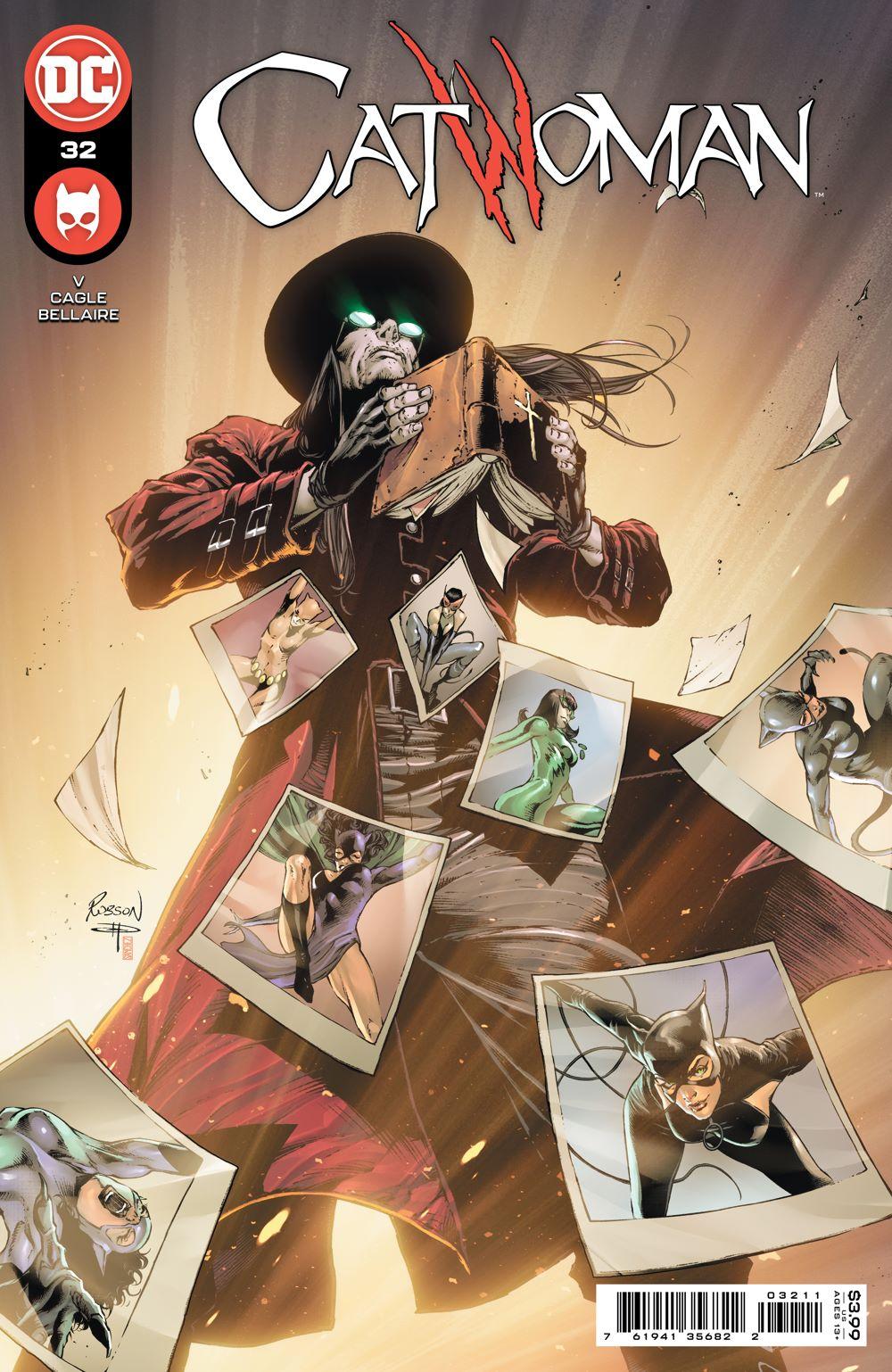 CATWOMAN_Cv32 DC Comics June 2021 Solicitations
