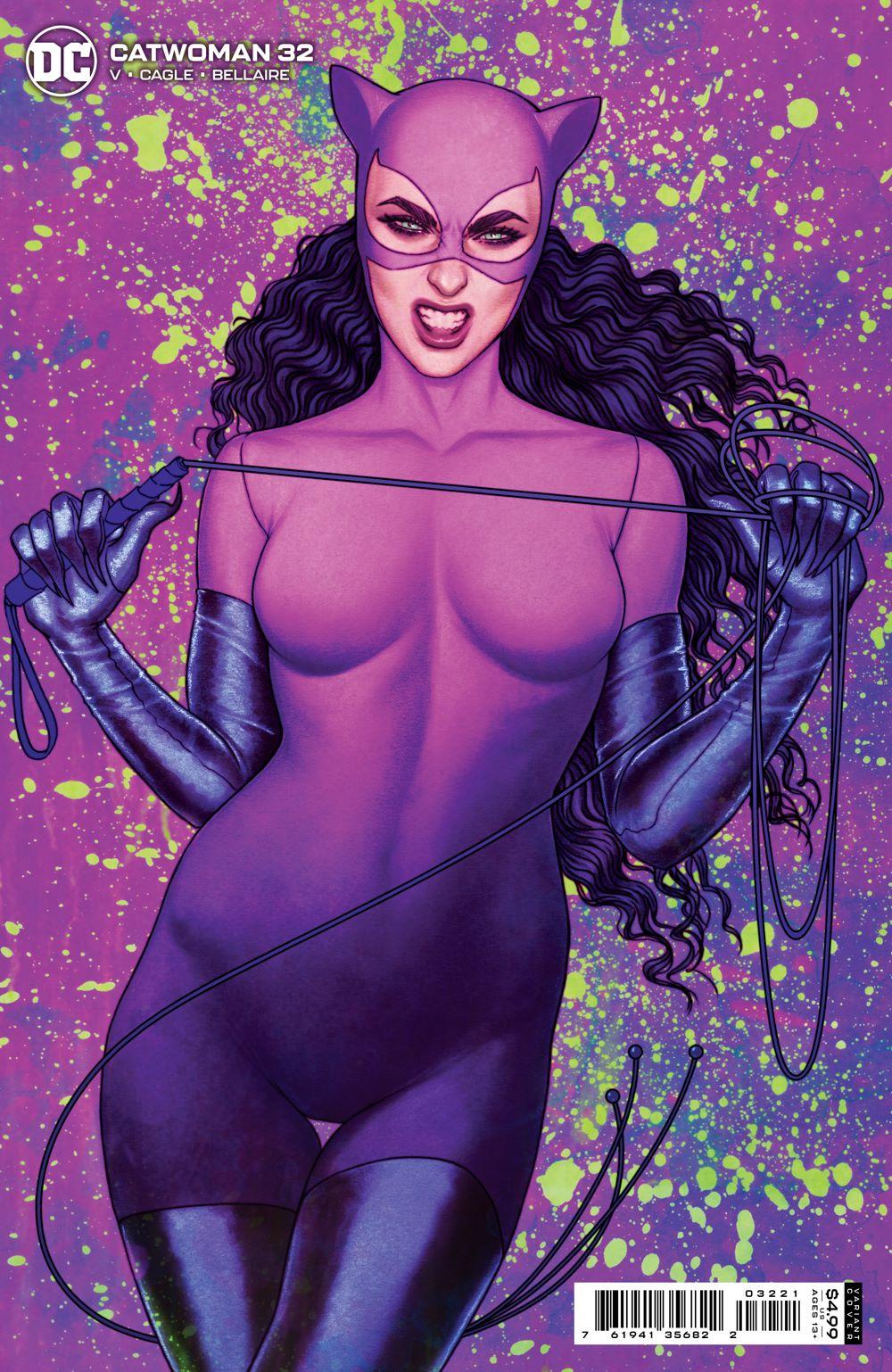 CATWOMAN_Cv32_var DC Comics June 2021 Solicitations
