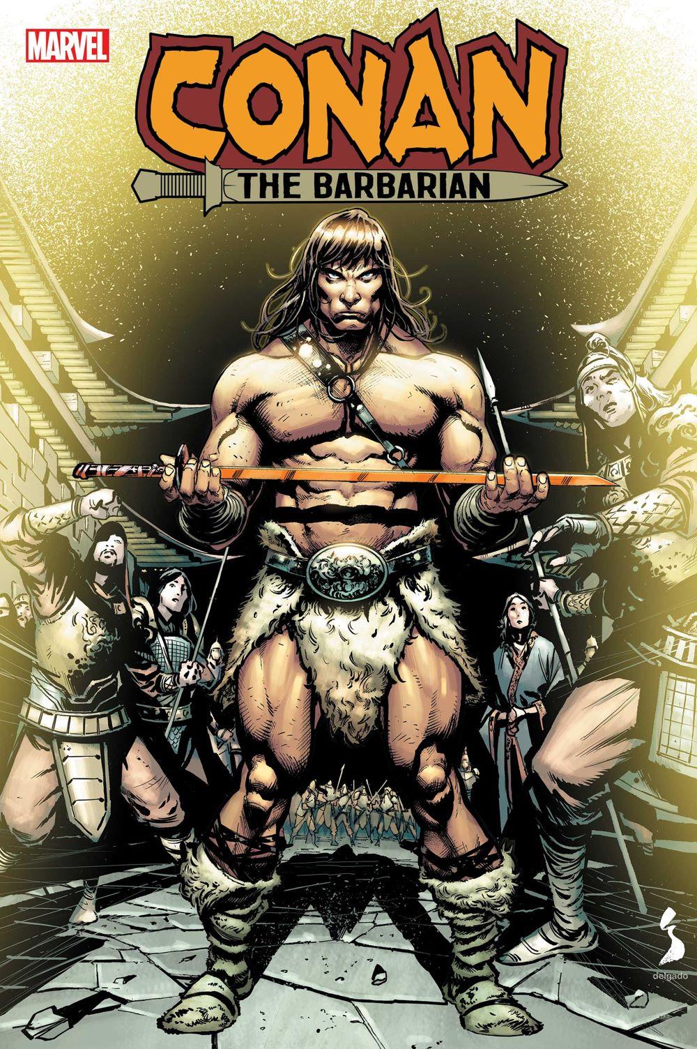 CONANBARB2020022 Marvel Comics June 2021 Solicitations