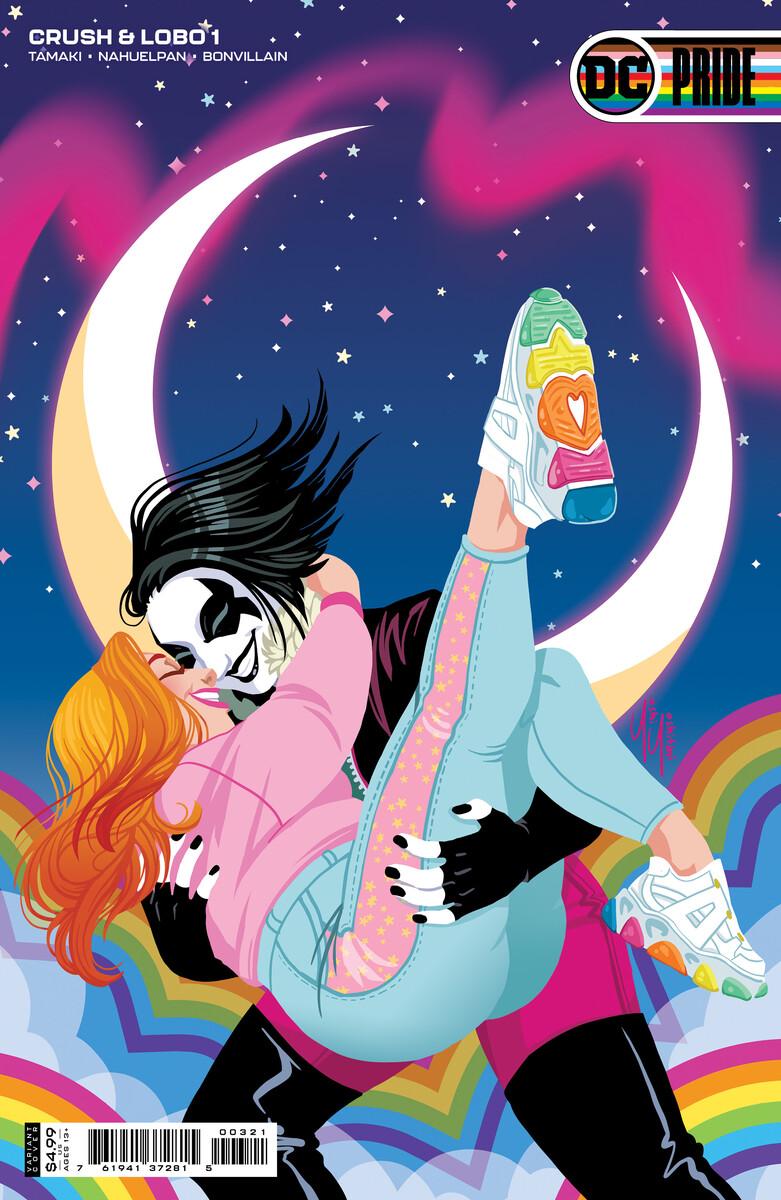 CandL_Cv1_var_Yoshi_Yoshitani_60496d551da722.46314307 DC PRIDE anthology to feature nine Pride themed variant covers