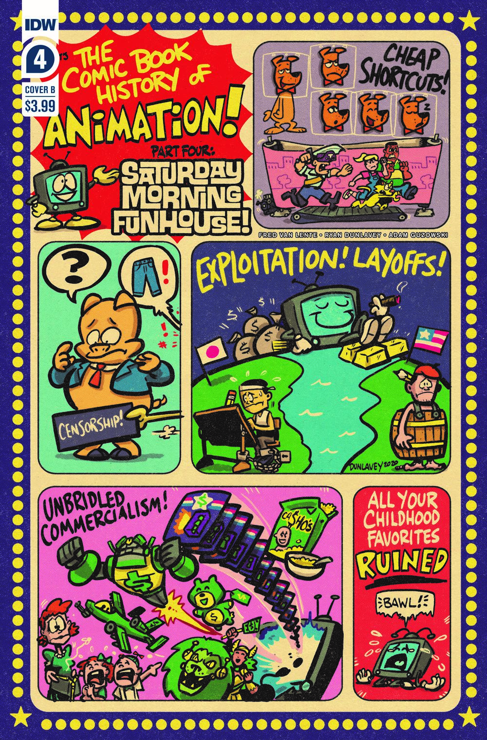 ComicBookHistory_04_CvrB ComicList Previews: COMIC BOOK HISTORY OF ANIMATION #4 (OF 5)