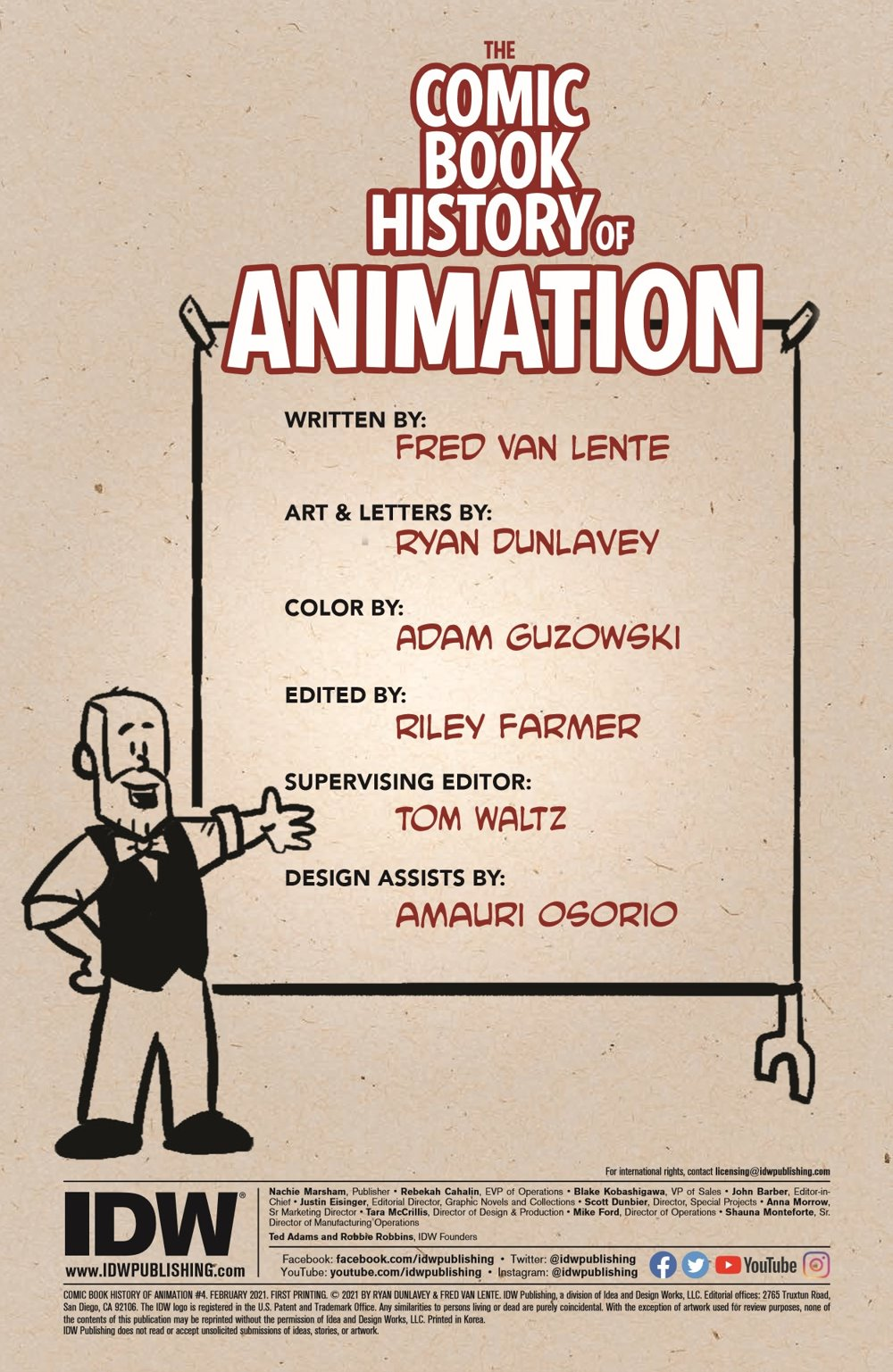 ComicBookHistory_04_pr-2 ComicList Previews: COMIC BOOK HISTORY OF ANIMATION #4 (OF 5)
