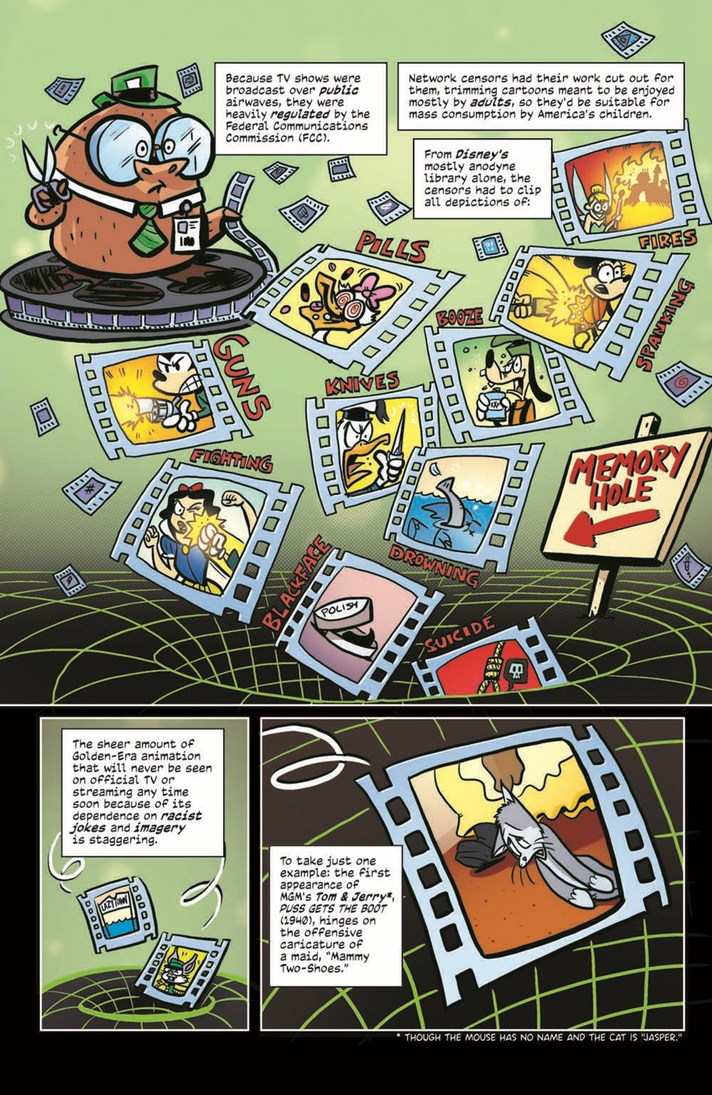 ComicBookHistory_04_pr-5 ComicList Previews: COMIC BOOK HISTORY OF ANIMATION #4 (OF 5)