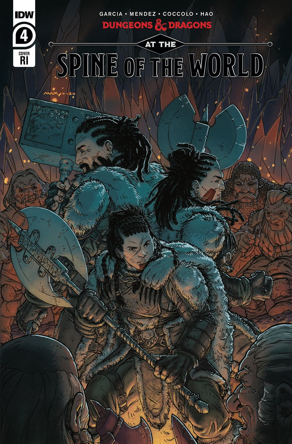 DD_ATSOTW04-coverRI ComicList Previews: DUNGEONS AND DRAGONS AT THE SPINE OF THE WORLD #4 (OF 4)