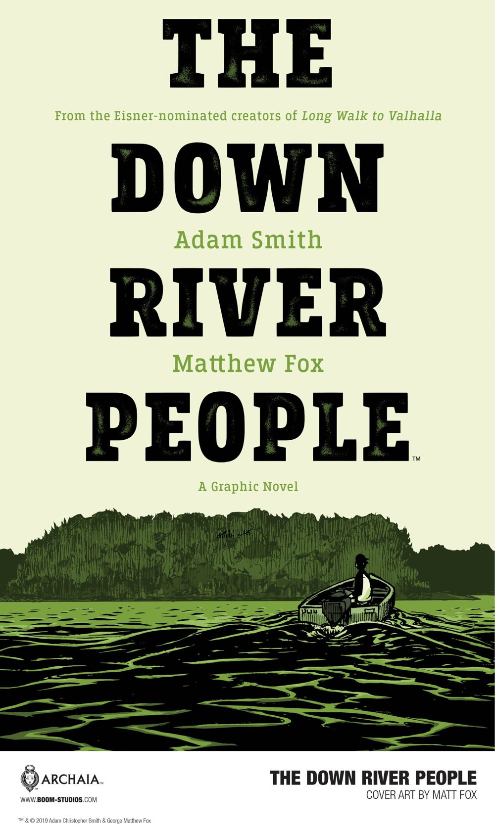 DownRiverPeople_Cover_Promo-2 Second Look at BOOM! Studios' THE DOWN RIVER PEOPLE GN