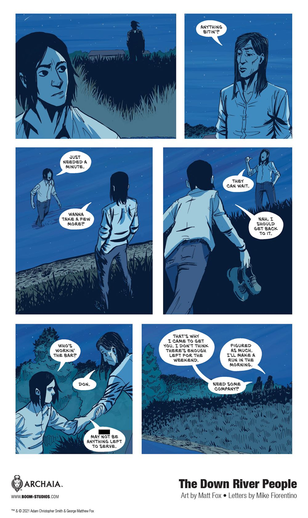 DownRiverPeople_SC_InteriorArt_018_PROMO Second Look at BOOM! Studios' THE DOWN RIVER PEOPLE GN