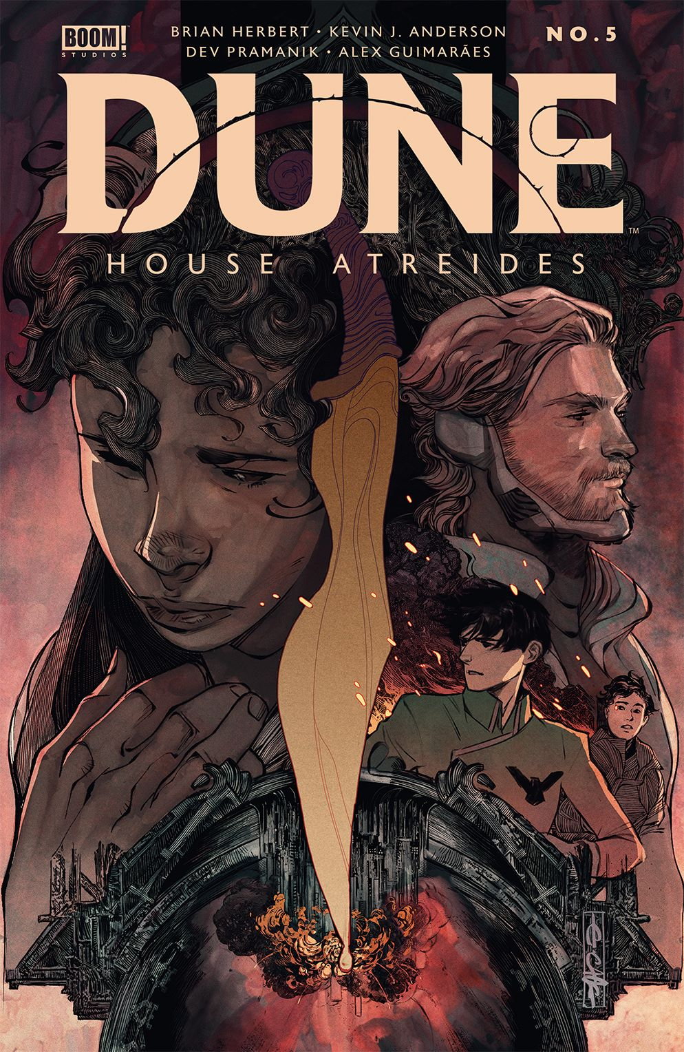 Dune_HouseAtreides_005_Cover_A_Main ComicList: BOOM! Studios New Releases for 03/24/2021