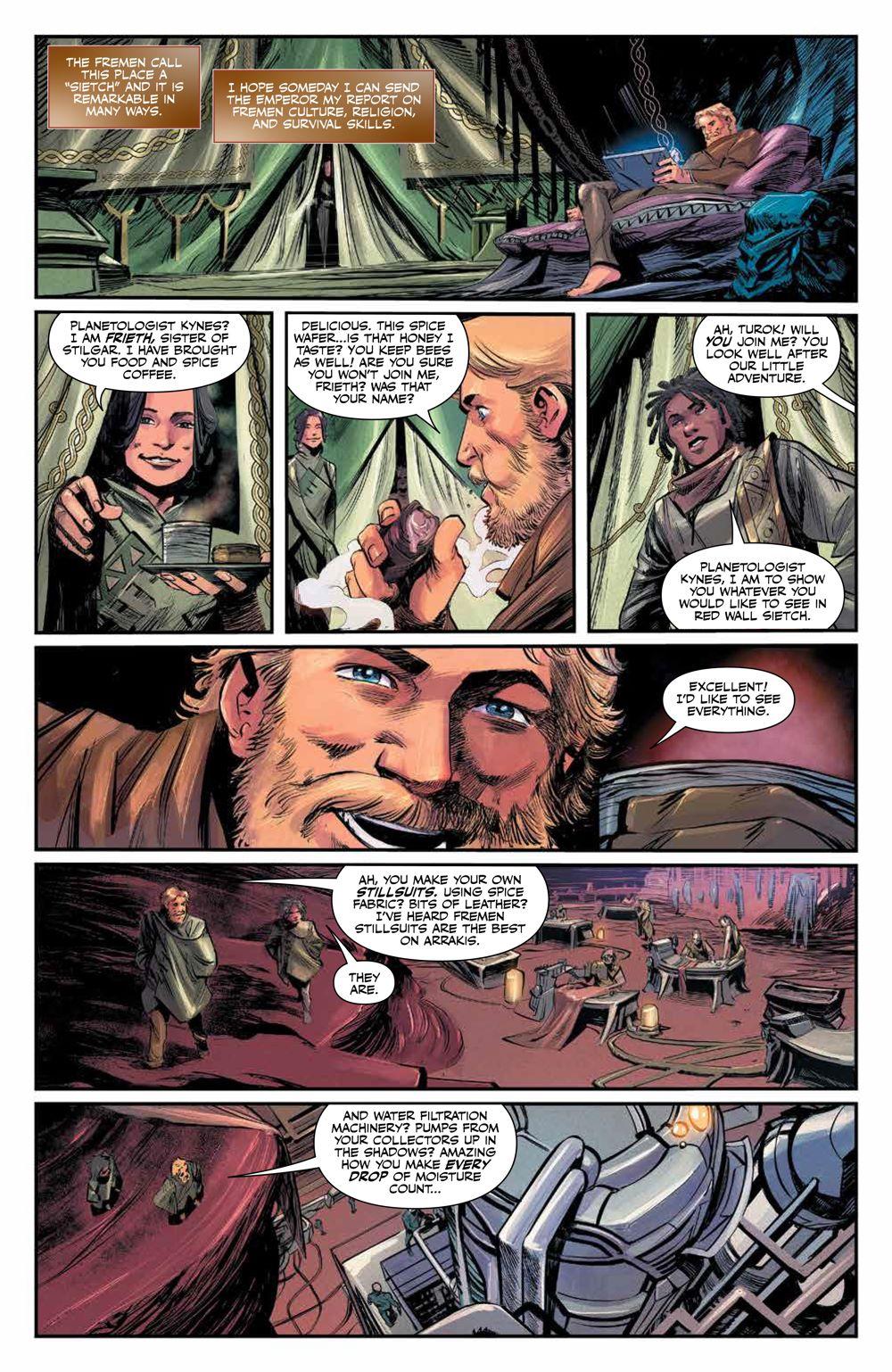 Dune_HouseAtreides_005_PRESS_5 ComicList Previews: DUNE HOUSE ATREIDES #5 (OF 12)