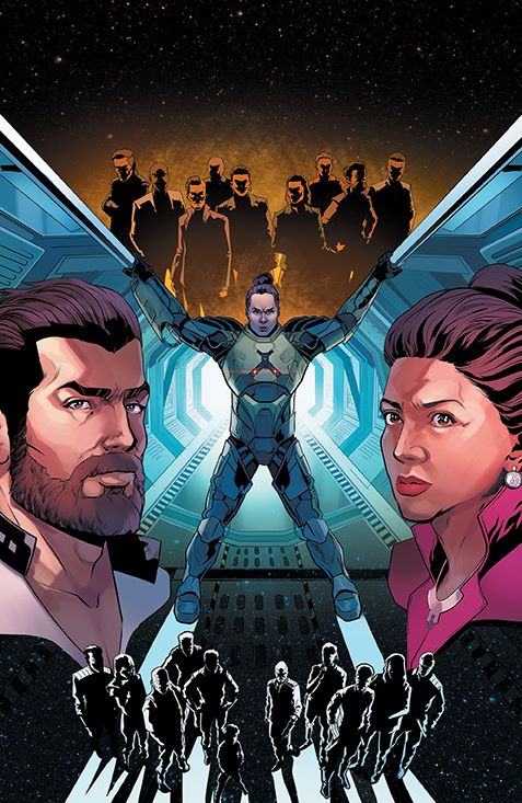 Expanse_004_Cover_C_Variant ComicList Previews: THE EXPANSE #4 (OF 4)