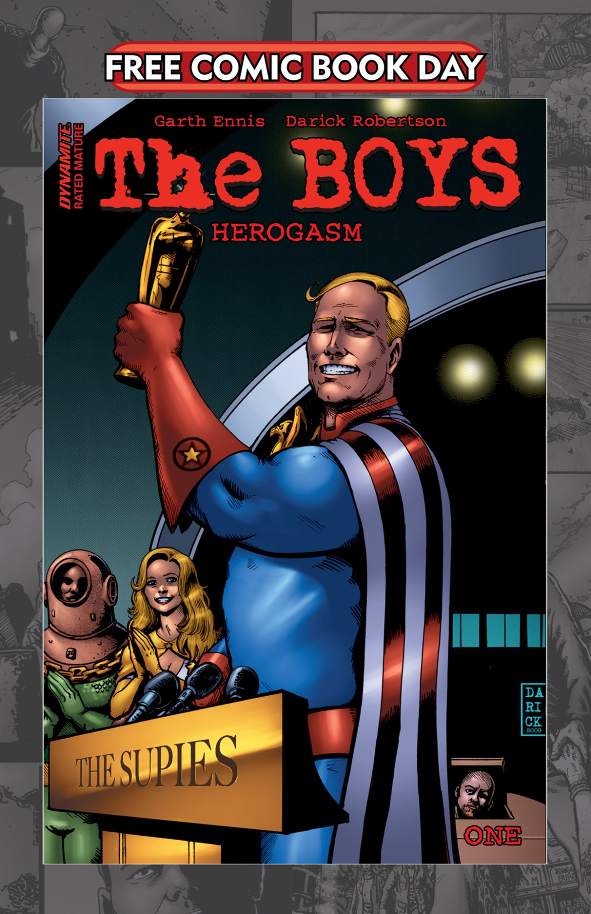 FCBD21_SILVER_Dynamite_The-Boys-Herogasm-1 Complete Free Comic Book Day 2021 comic book line-up announced