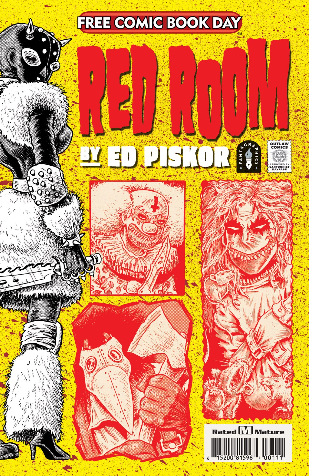 FCBD21_SILVER_Fantagraphics_Red-Room Complete Free Comic Book Day 2021 comic book line-up announced