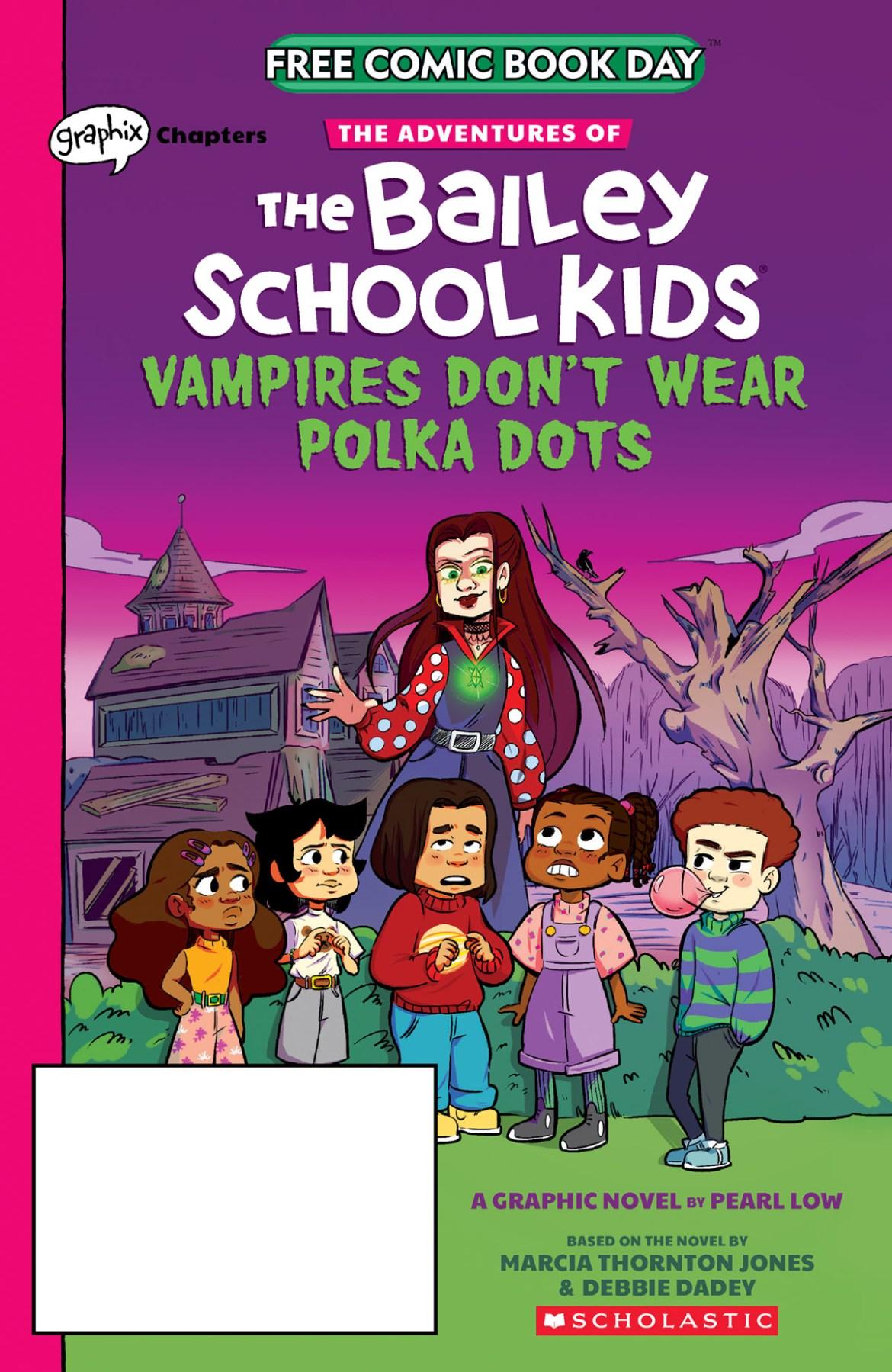 FCBD21_SILVER_Graphix-Scholastic_Adv-Bailey-Sch-Kids-1 Complete Free Comic Book Day 2021 comic book line-up announced