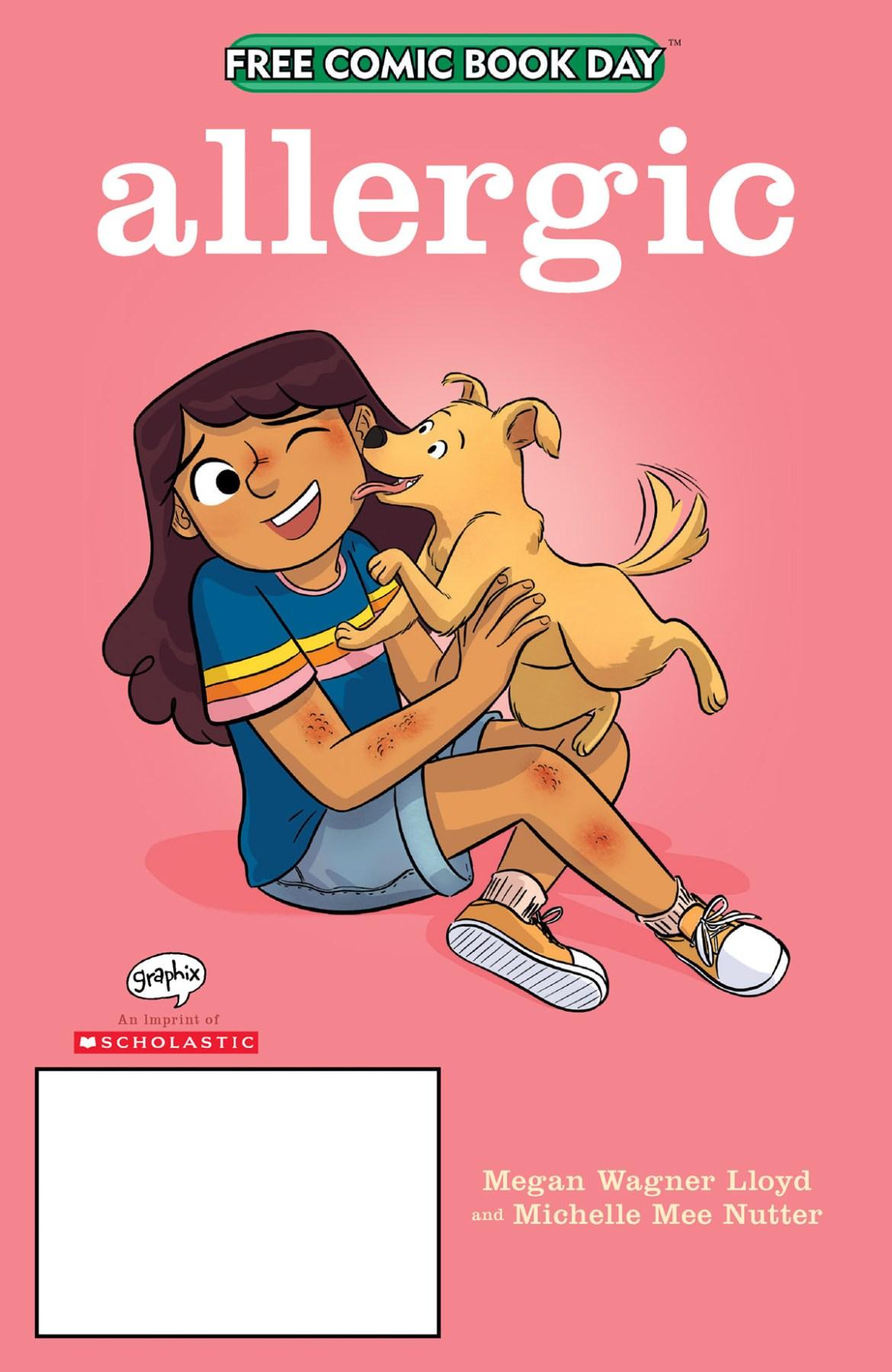 FCBD21_SILVER_Graphix-Scholastic_Allergic Complete Free Comic Book Day 2021 comic book line-up announced