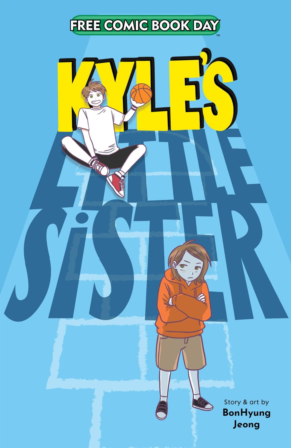 FCBD21_SILVER_JYen-Press_Kyles-Little-Sister Complete Free Comic Book Day 2021 comic book line-up announced