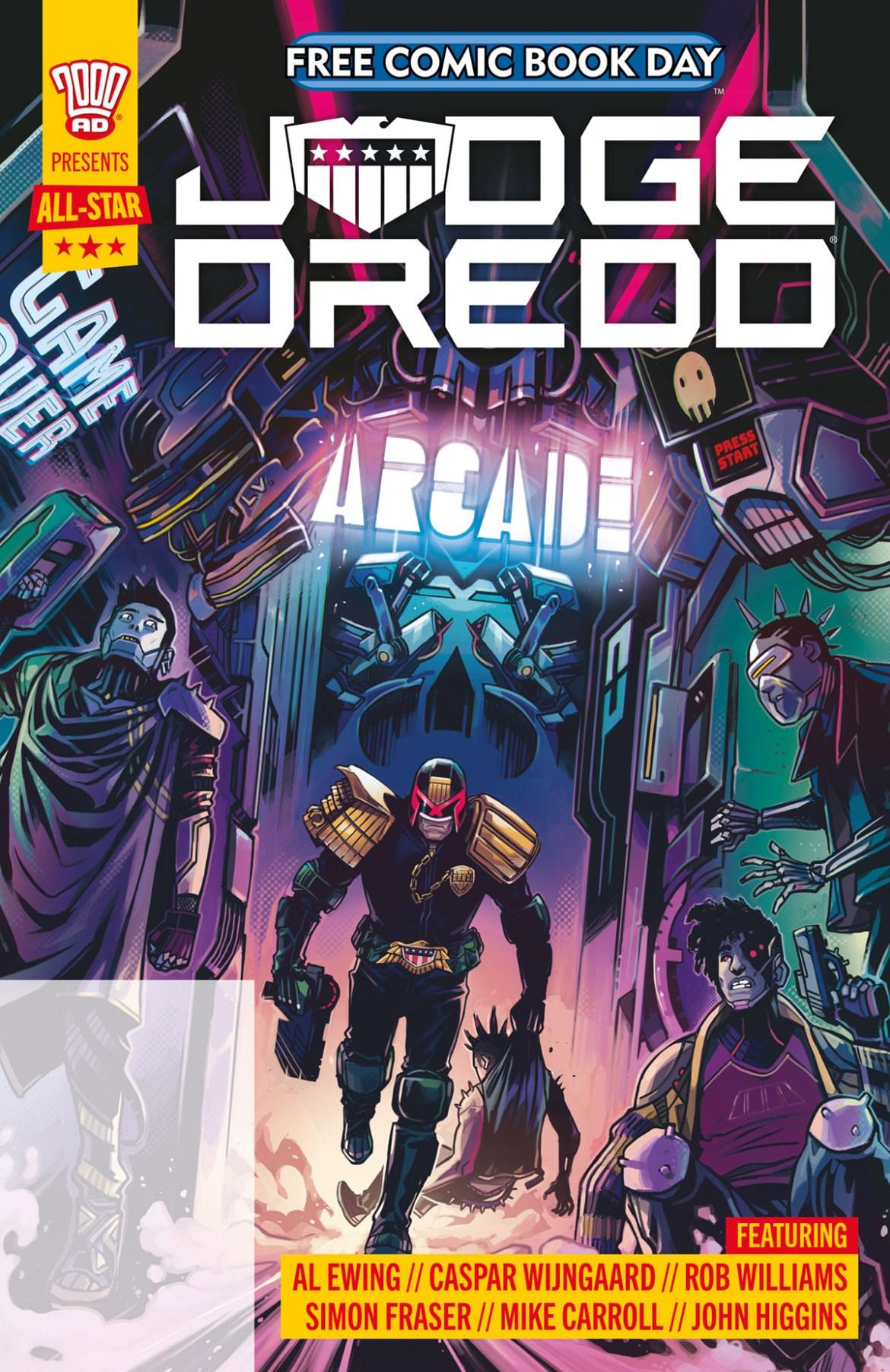FCBD21_SILVER_Rebellion_All-Star-Judge-Dredd- Complete Free Comic Book Day 2021 comic book line-up announced