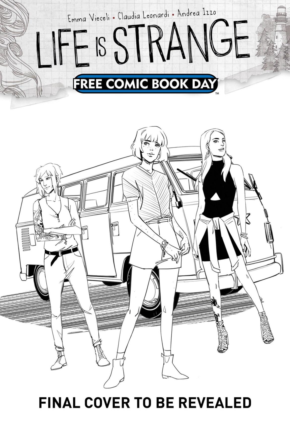 FCBD21_SILVER_Titan-Comics_FCBD21-Life-is-Strange Complete Free Comic Book Day 2021 comic book line-up announced