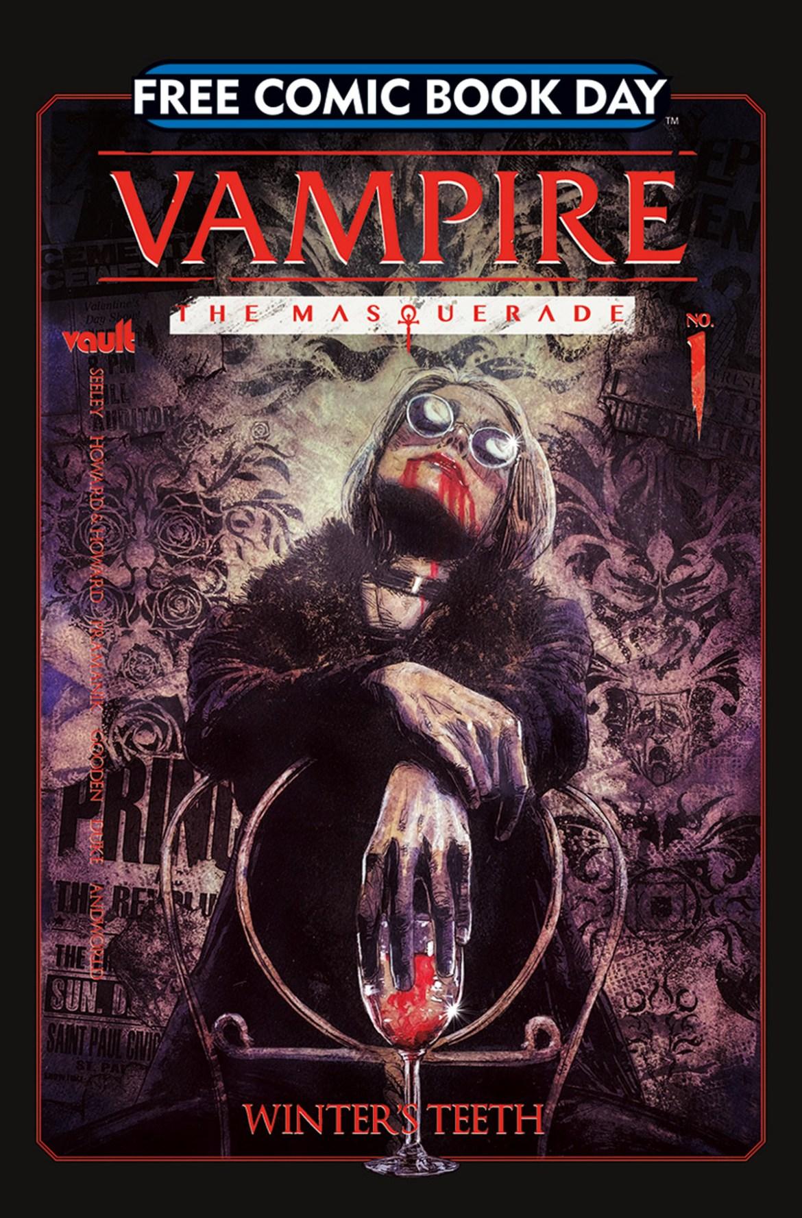 FCBD21_SILVER_Vault_Vampire-Masquerade Complete Free Comic Book Day 2021 comic book line-up announced