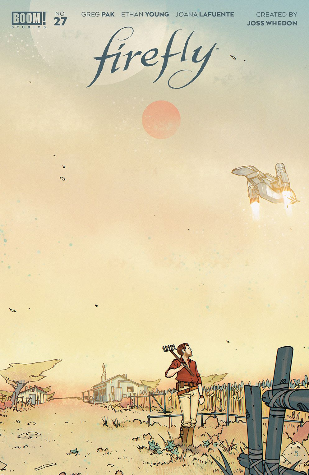 Firefly_027_Cover_A_Main ComicList Previews: FIREFLY #27