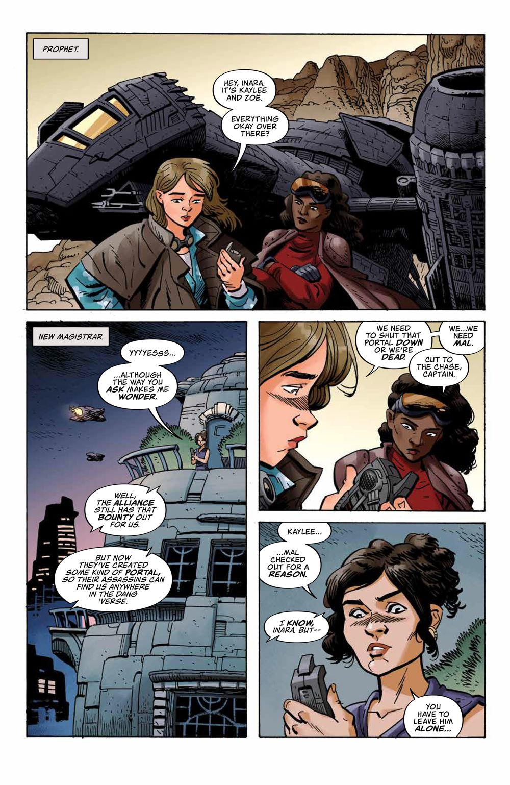 Firefly_027_PRESS_3 ComicList Previews: FIREFLY #27