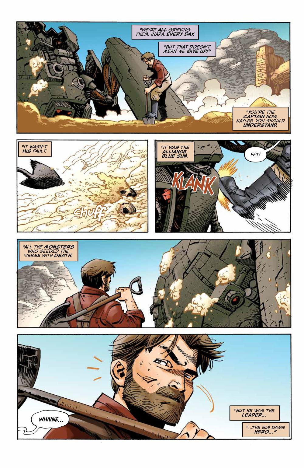 Firefly_027_PRESS_7 ComicList Previews: FIREFLY #27