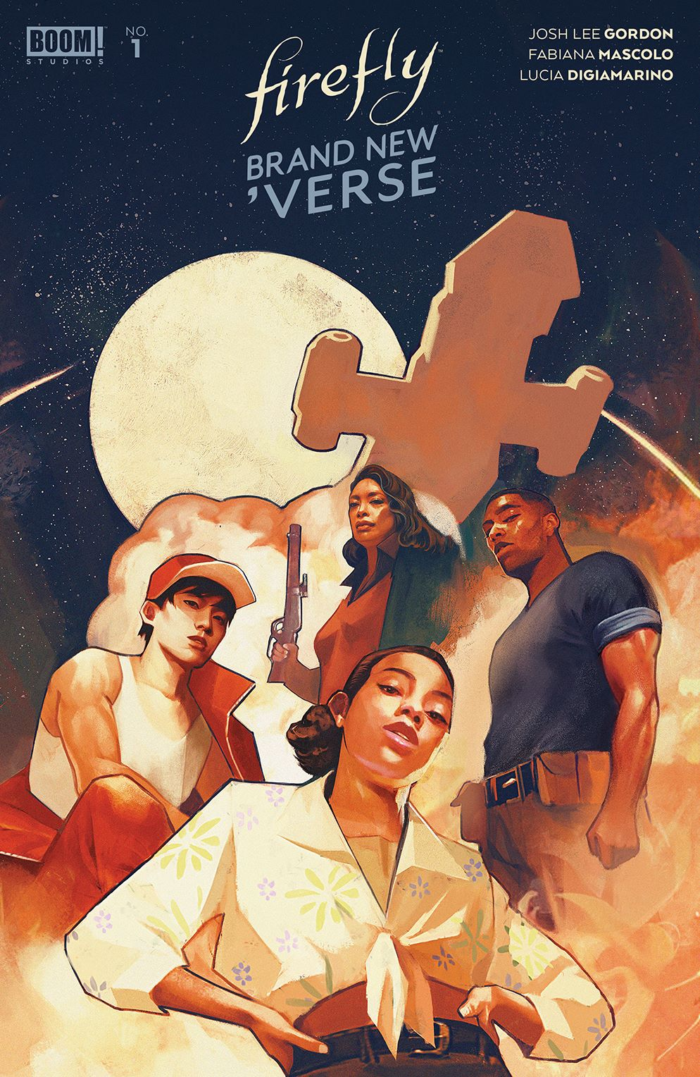 Firefly_BrandNewVerse_001_Cover_A_Main ComicList Previews: FIREFLY BRAND NEW 'VERSE #1