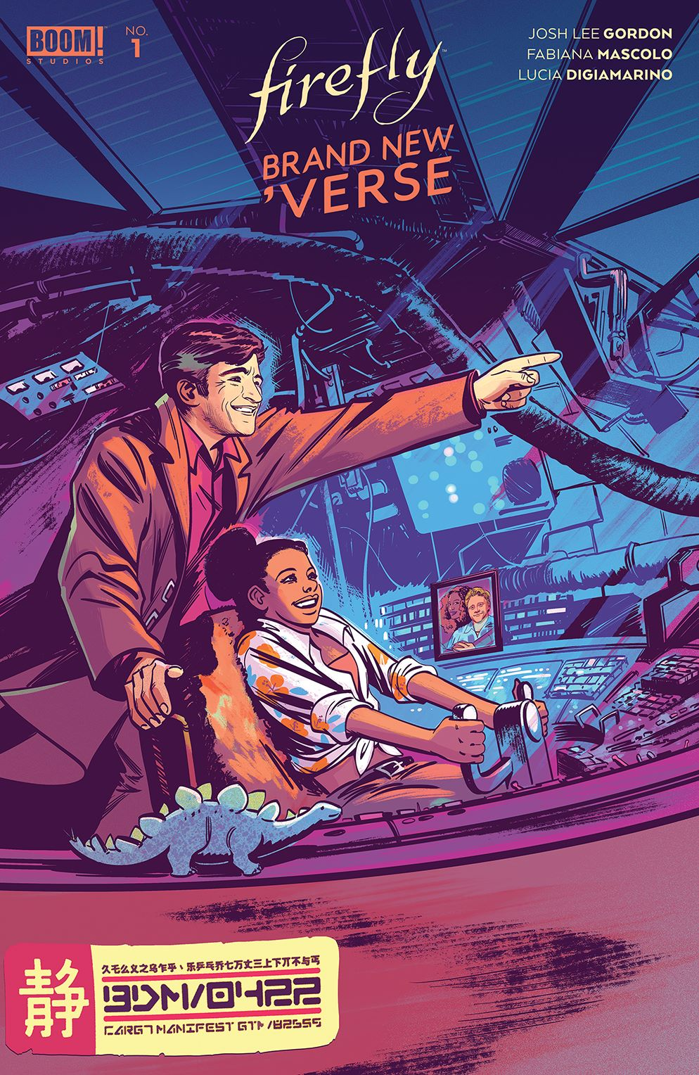 Firefly_BrandNewVerse_001_Cover_B_Variant ComicList: BOOM! Studios New Releases for 03/24/2021
