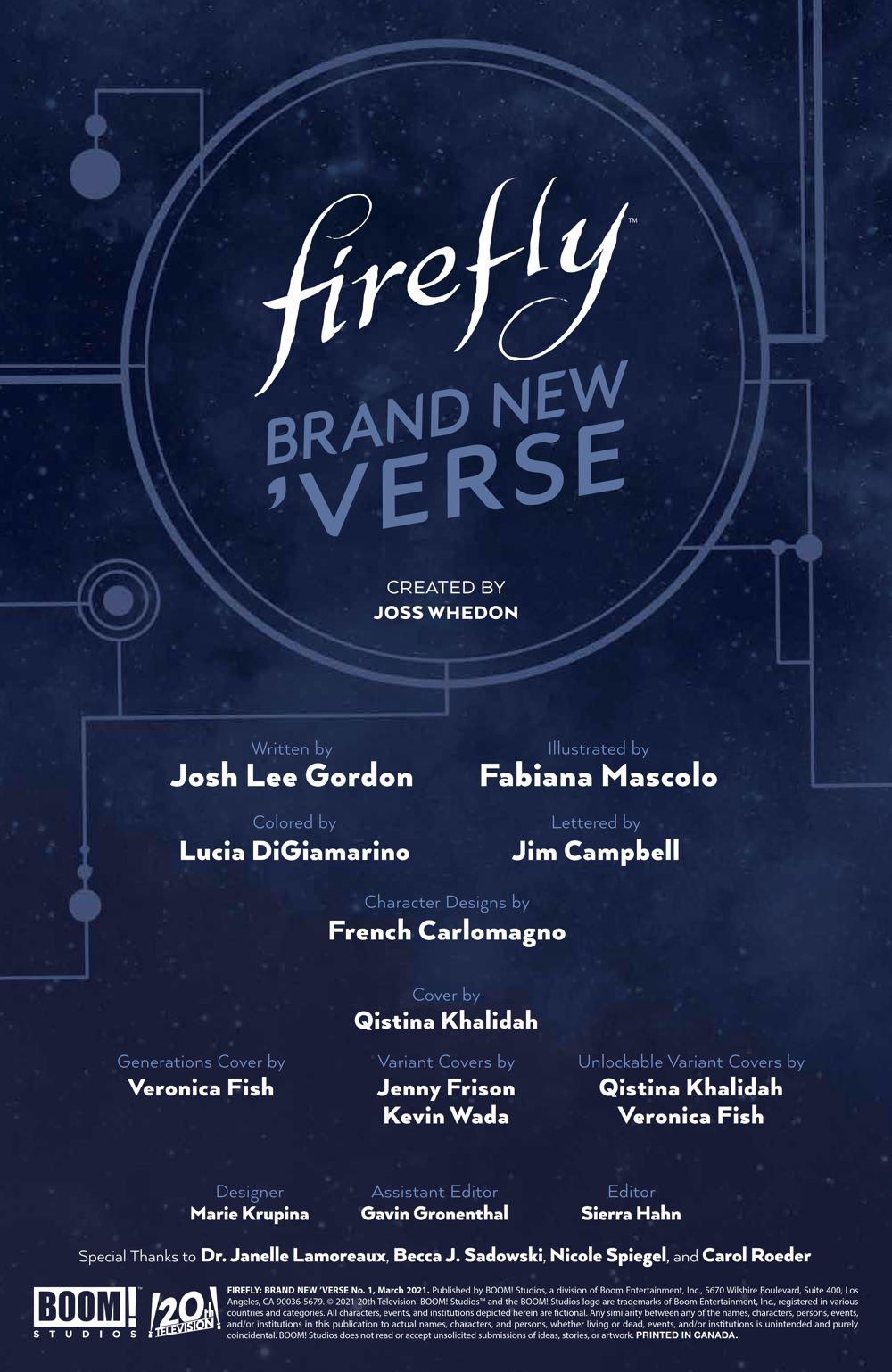 Firefly_BrandNewVerse_001_PRESS_2 ComicList Previews: FIREFLY BRAND NEW 'VERSE #1