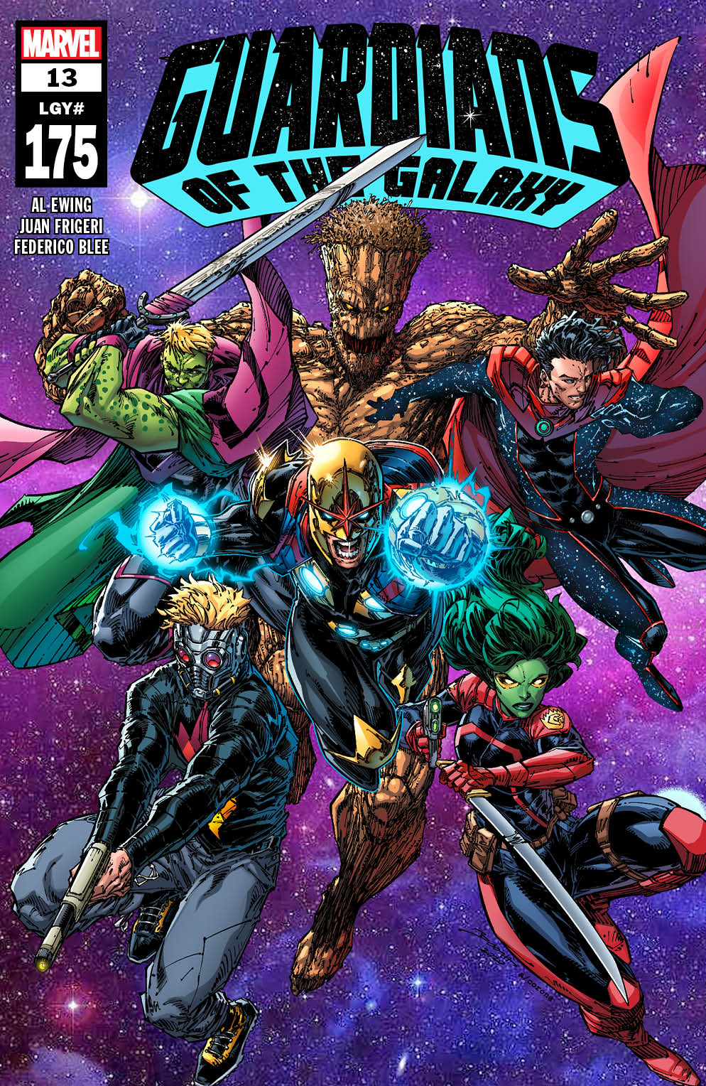 GARGAL2020013_Cover There's a plethora of new in the GUARDIANS OF THE GALAXY #13 trailer