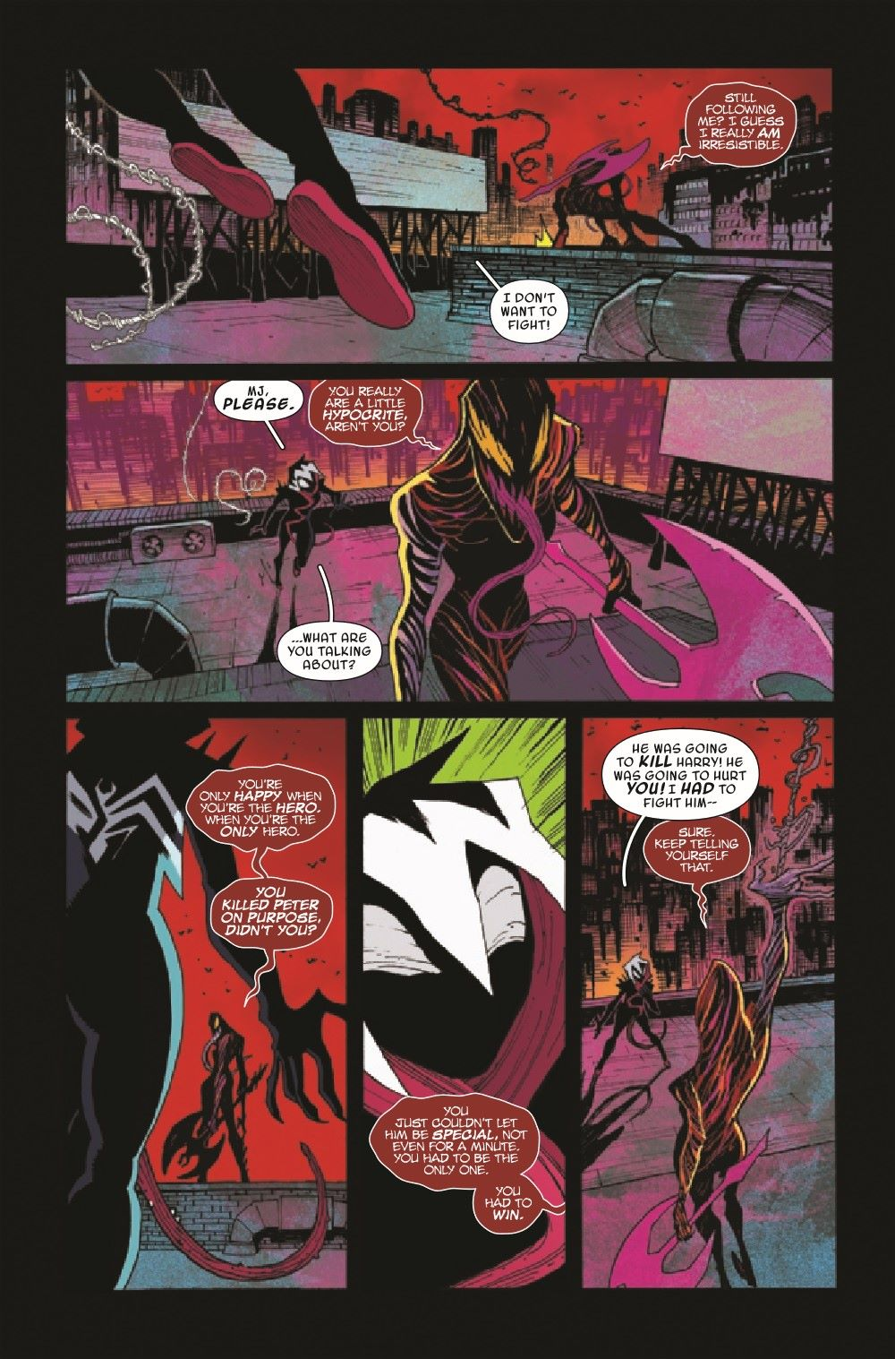 GWENOMVSCARNKIB2021003_Preview-4 ComicList Previews: KING IN BLACK GWENOM VS CARNAGE #3 (OF 3)
