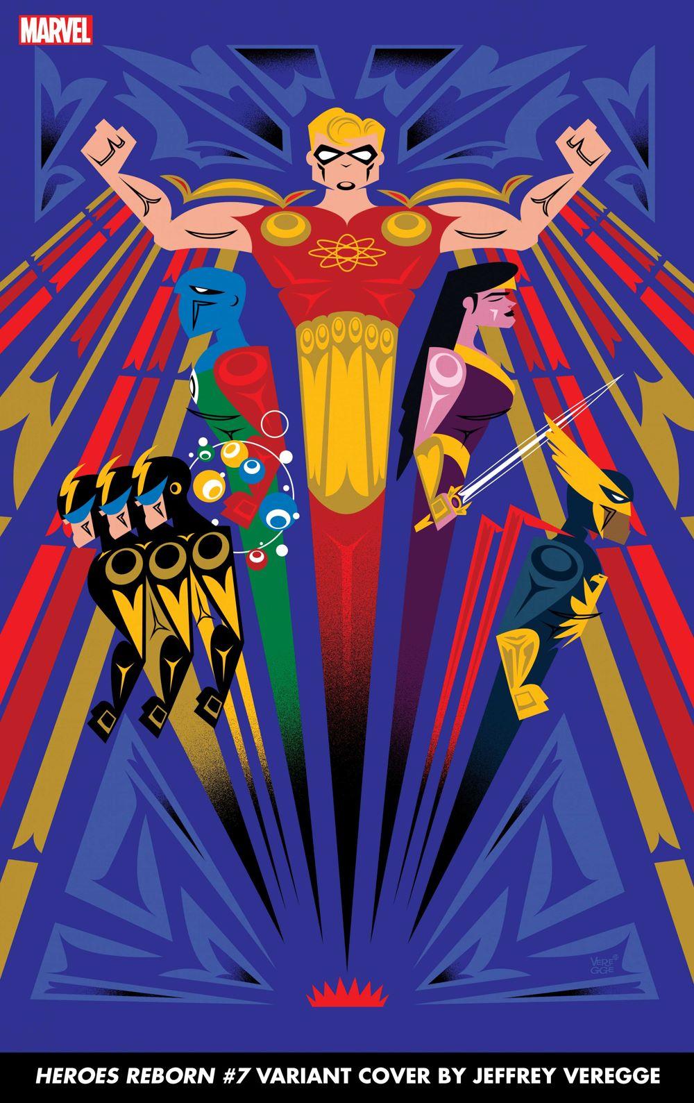 HEROESREBORN2021007_Veregge Marvel unleashes the final Jeffrey Veregge HEROES REBORN variant covers