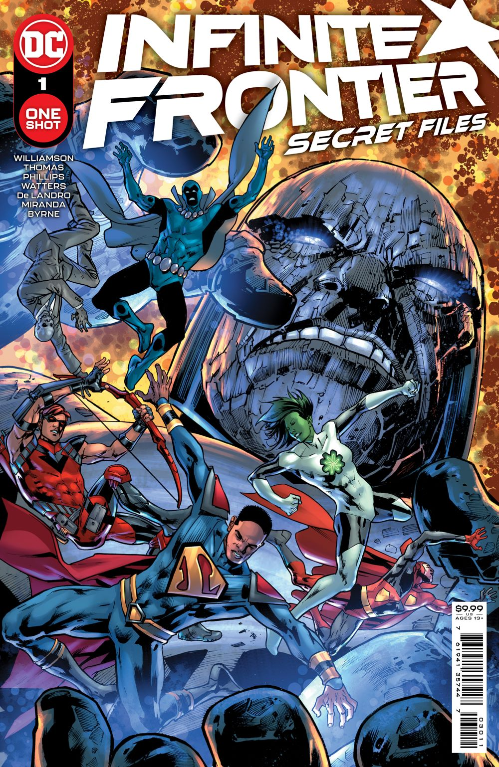 INFINITEFRONTIER_SF_Cv1 DC Comics June 2021 Solicitations