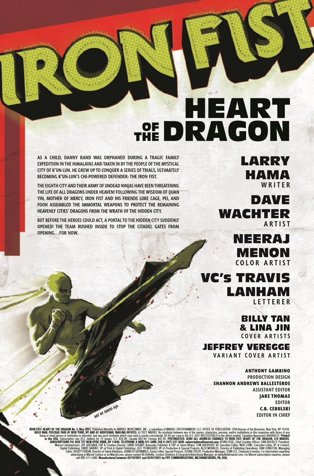 IRONFISTHOD2021003_Preview-2 ComicList Previews: IRON FIST HEART OF THE DRAGON #3 (OF 6)