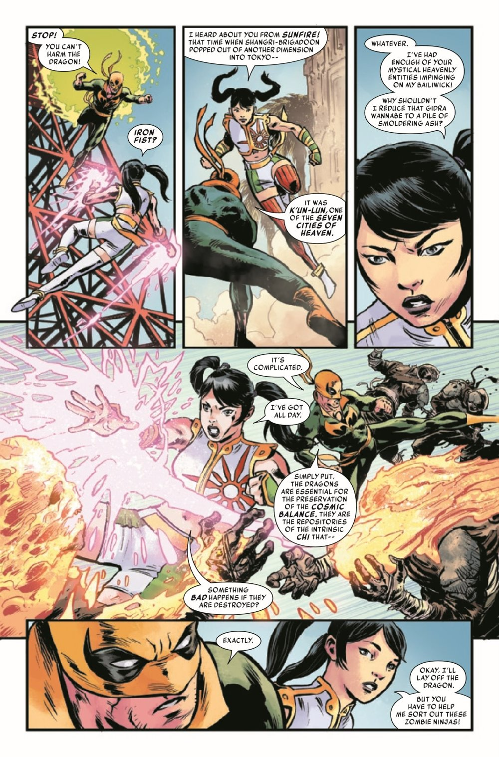 IRONFISTHOD2021003_Preview-5 ComicList Previews: IRON FIST HEART OF THE DRAGON #3 (OF 6)