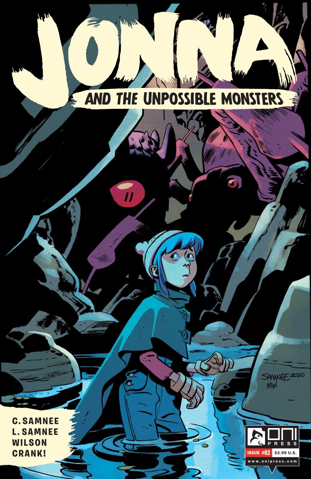 JONNA-2-MARKETING-01 ComicList Previews: JONNA AND THE UNPOSSIBLE MONSTERS #2