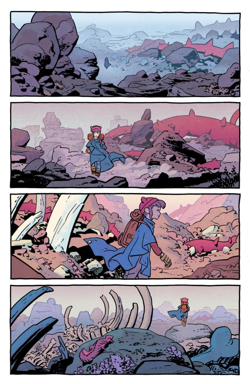 JONNA-2-MARKETING-02 ComicList Previews: JONNA AND THE UNPOSSIBLE MONSTERS #2