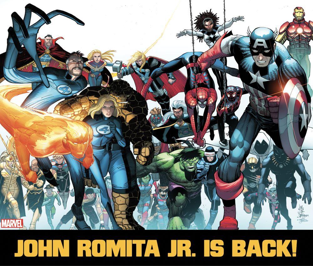 JRJR_Marvel John Romita Jr. returns to Marvel Comics