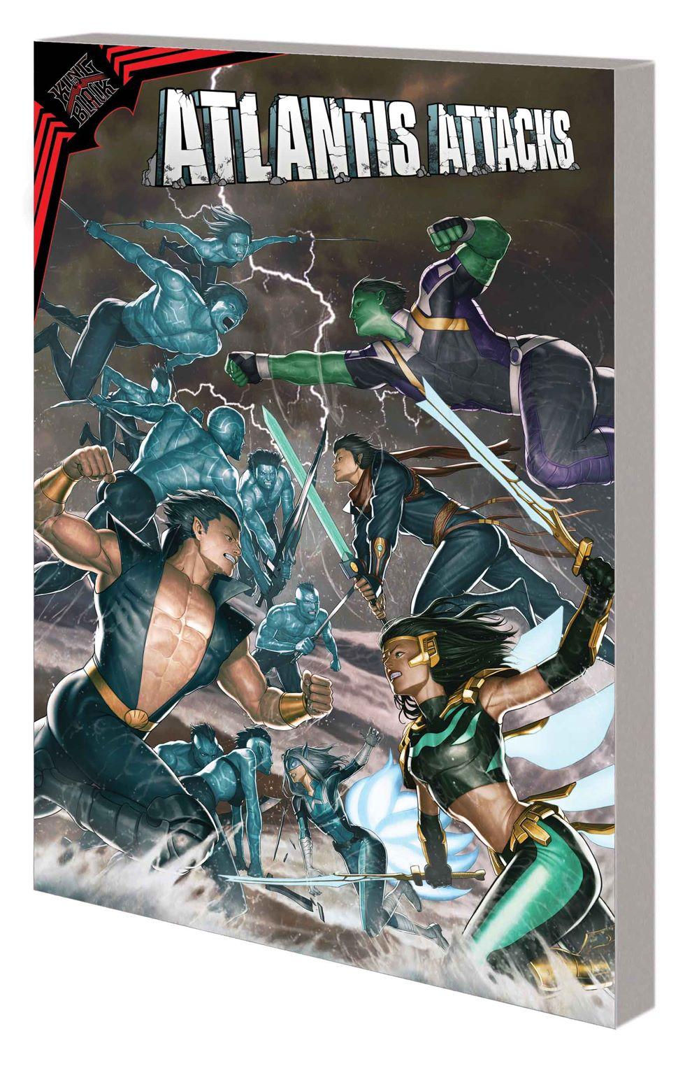 KIB_ATLANTISATTACKS_TPB Marvel Comics June 2021 Solicitations