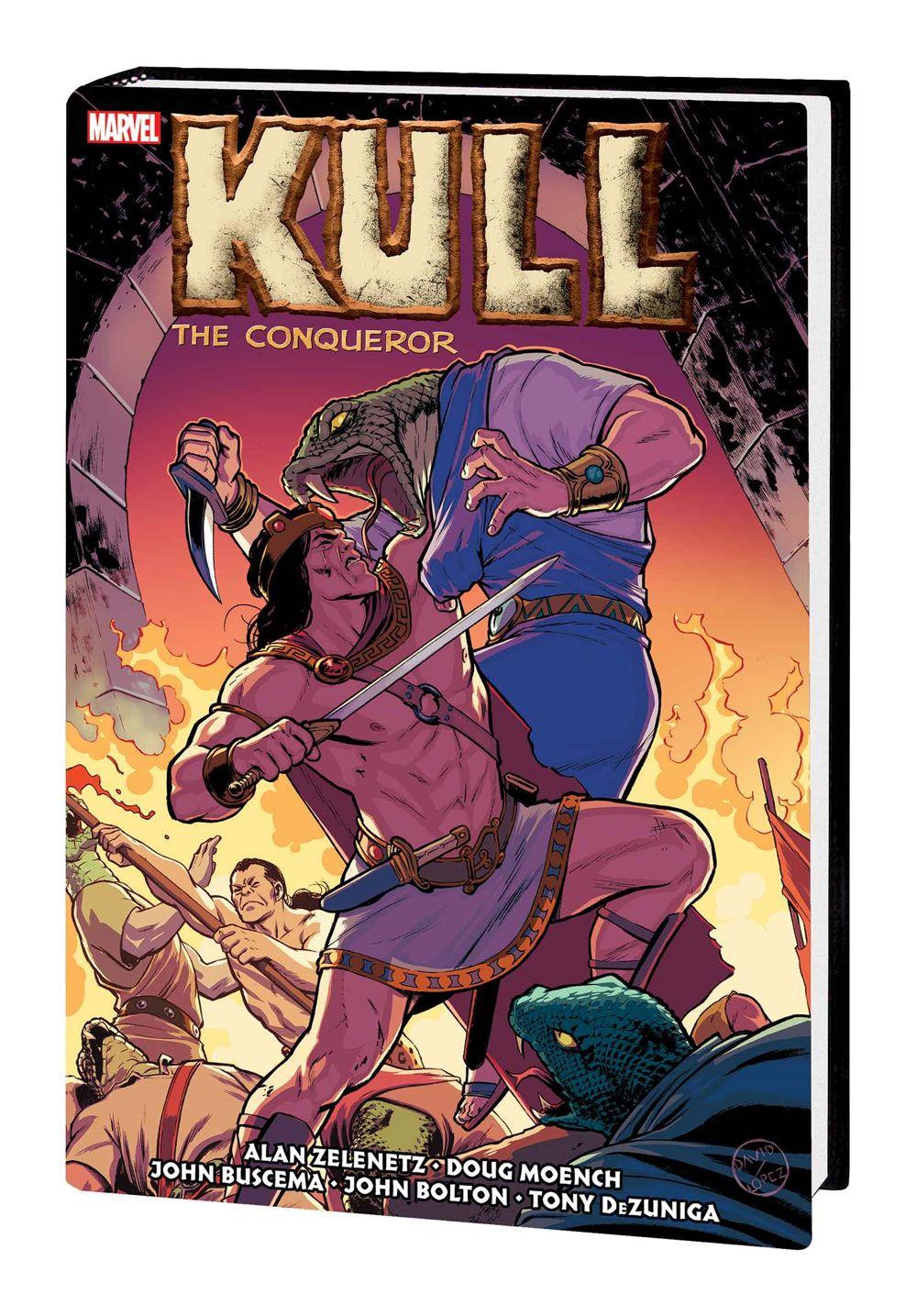 KULLCONMAROMNIHC_LOPEZ_HC Marvel Comics June 2021 Solicitations