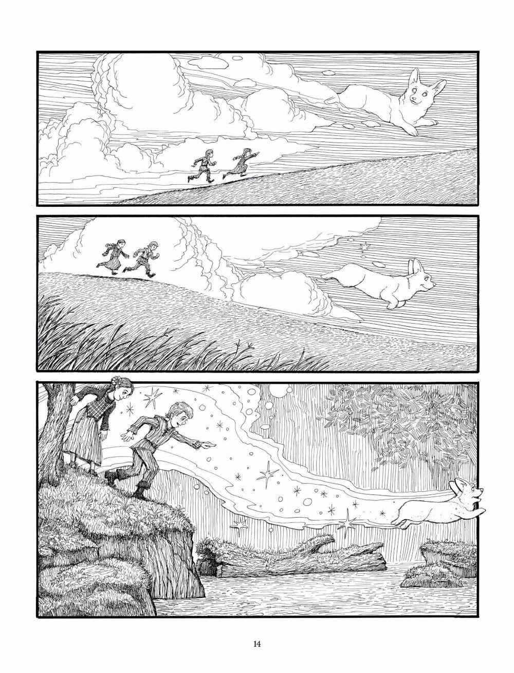 Korgi-Book-05_pr-8 ComicList Previews: KORGI VOLUME 5 END OF SEASONS GN