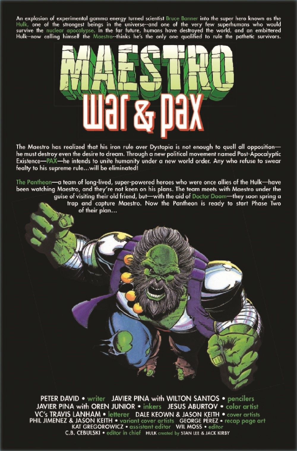 MAESTROWAP2021003_Preview-2 ComicList Previews: MAESTRO WAR AND PAX #3 (OF 5)