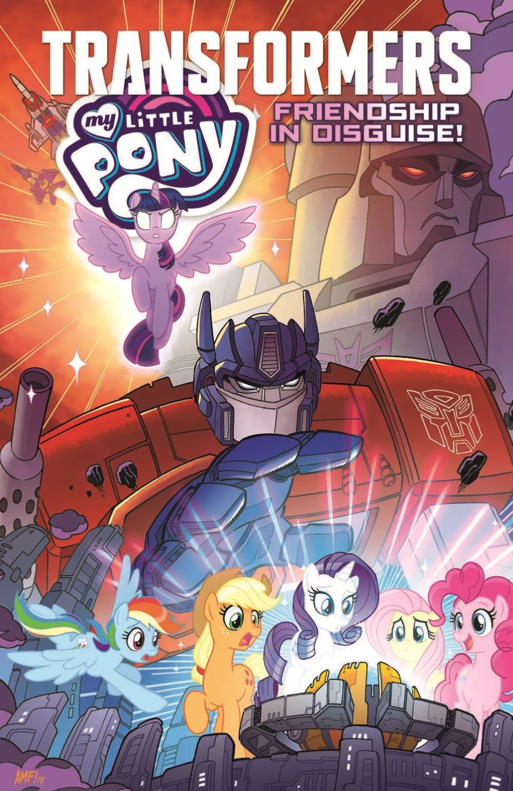 MLP-TF_XOVER_TPB_pr-1 ComicList Previews: MY LITTLE PONY TRANSFORMERS FRIENDSHIP IN DISGUISE TP