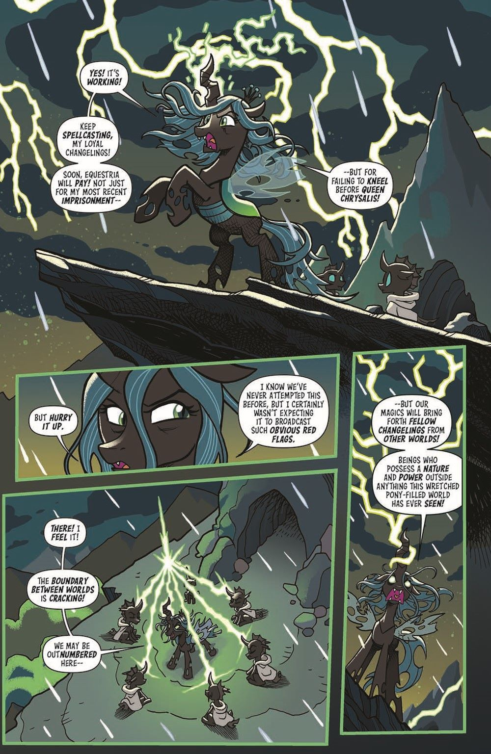 MLP-TF_XOVER_TPB_pr-4 ComicList Previews: MY LITTLE PONY TRANSFORMERS FRIENDSHIP IN DISGUISE TP