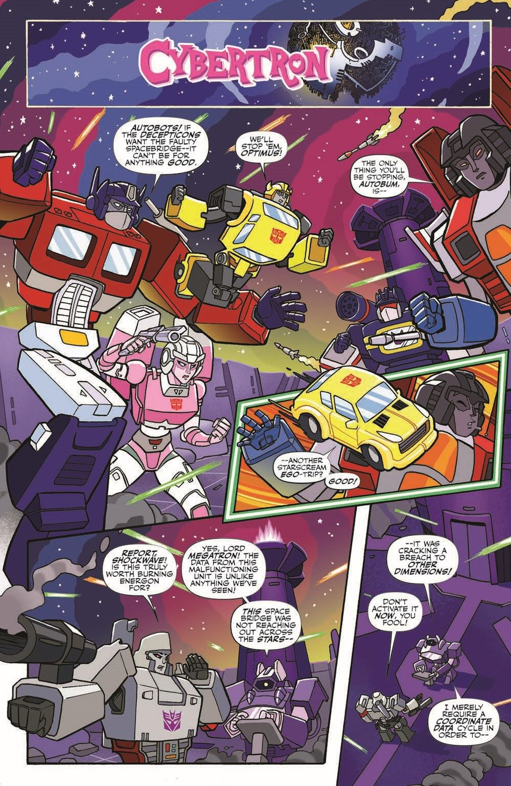 MLP-TF_XOVER_TPB_pr-5 ComicList Previews: MY LITTLE PONY TRANSFORMERS FRIENDSHIP IN DISGUISE TP
