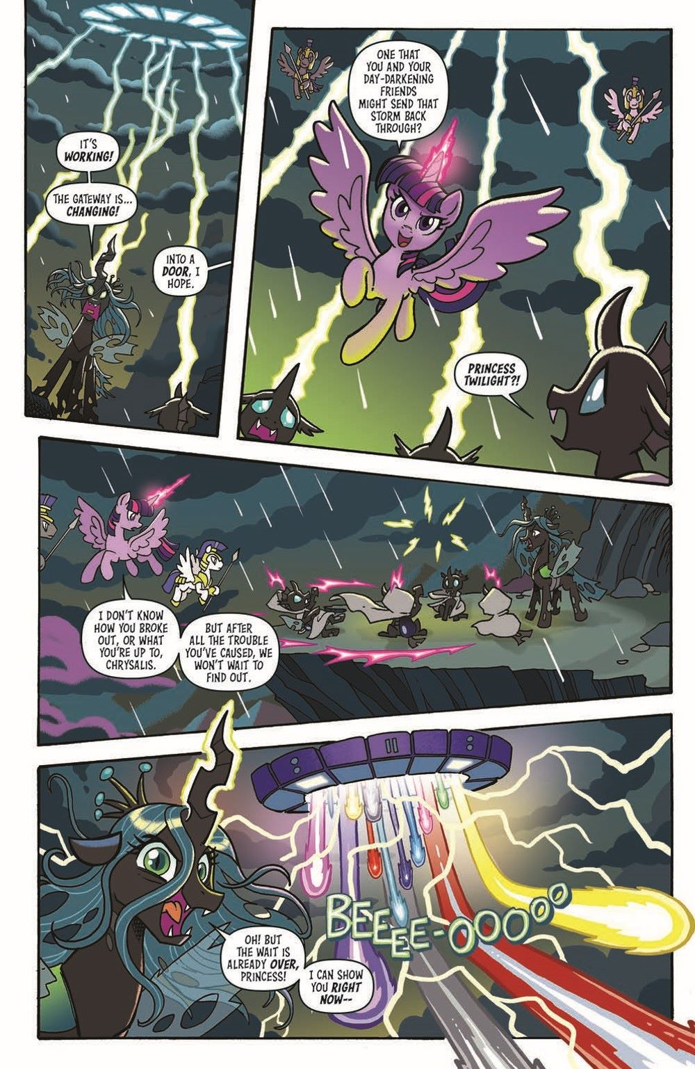 MLP-TF_XOVER_TPB_pr-7 ComicList Previews: MY LITTLE PONY TRANSFORMERS FRIENDSHIP IN DISGUISE TP