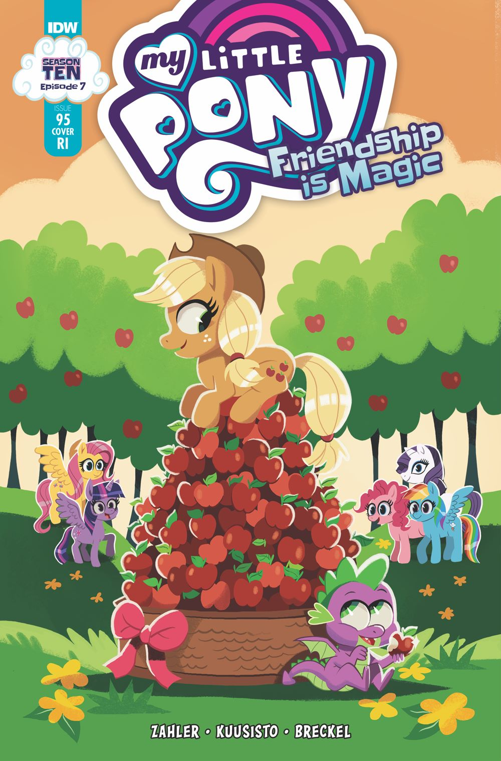 MLP95_07-coverRI ComicList: IDW Publishing New Releases for 03/17/2021