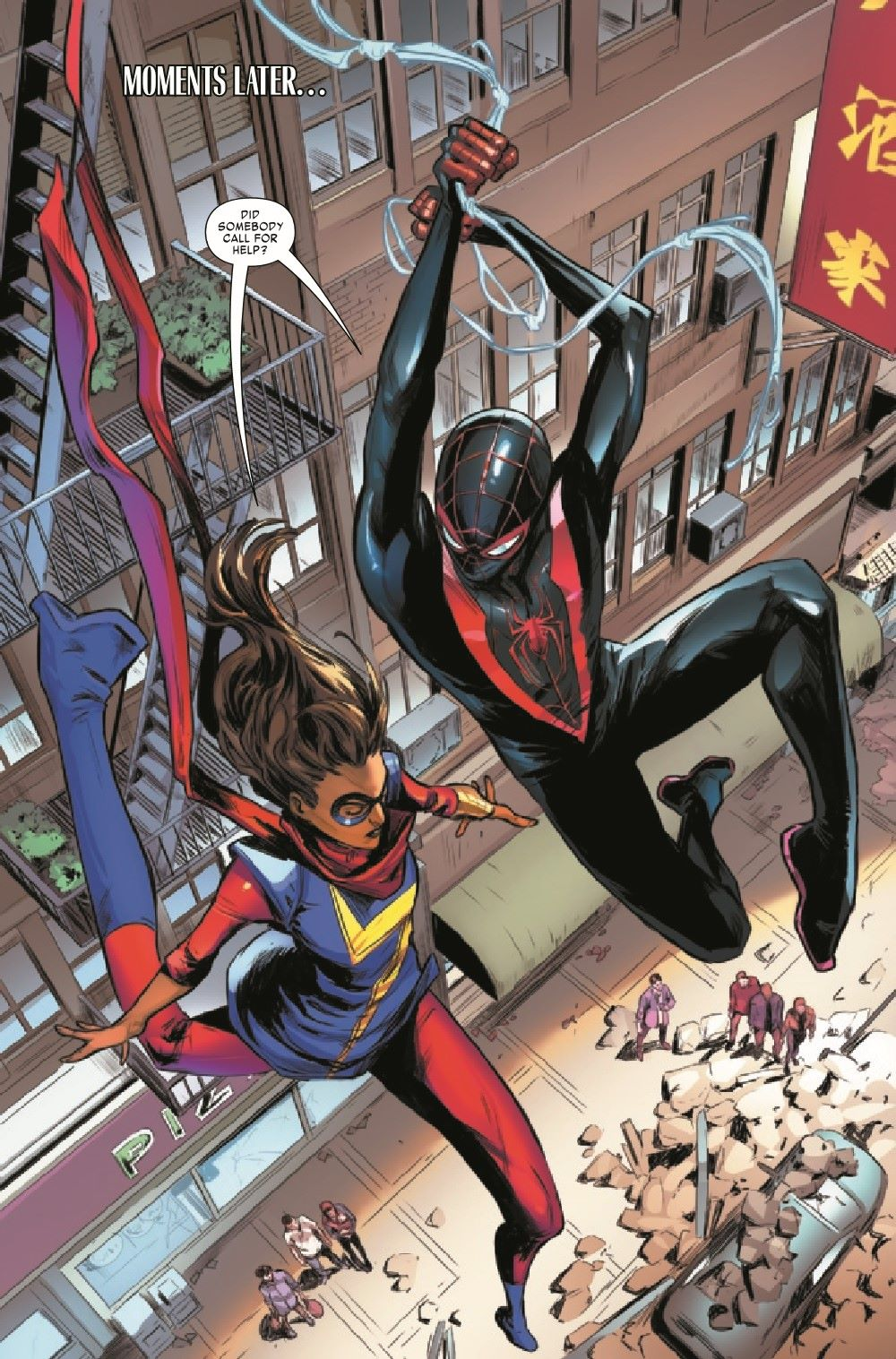 MMSM2018024_Preview-6 ComicList Previews: MILES MORALES SPIDER-MAN #24