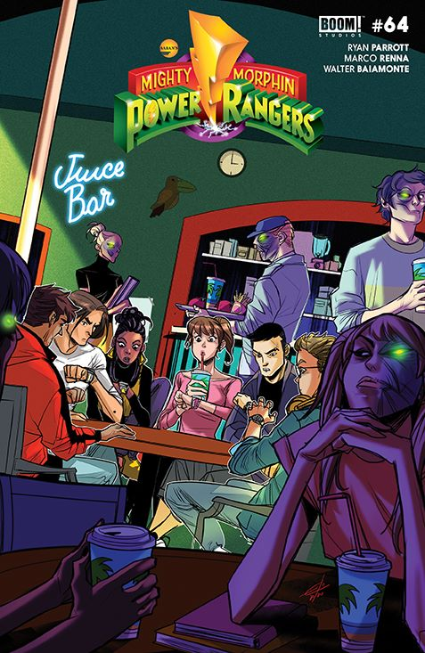 MightyMorphin_005_Cover_B_Legacy ComicList Previews: MIGHTY MORPHIN #5