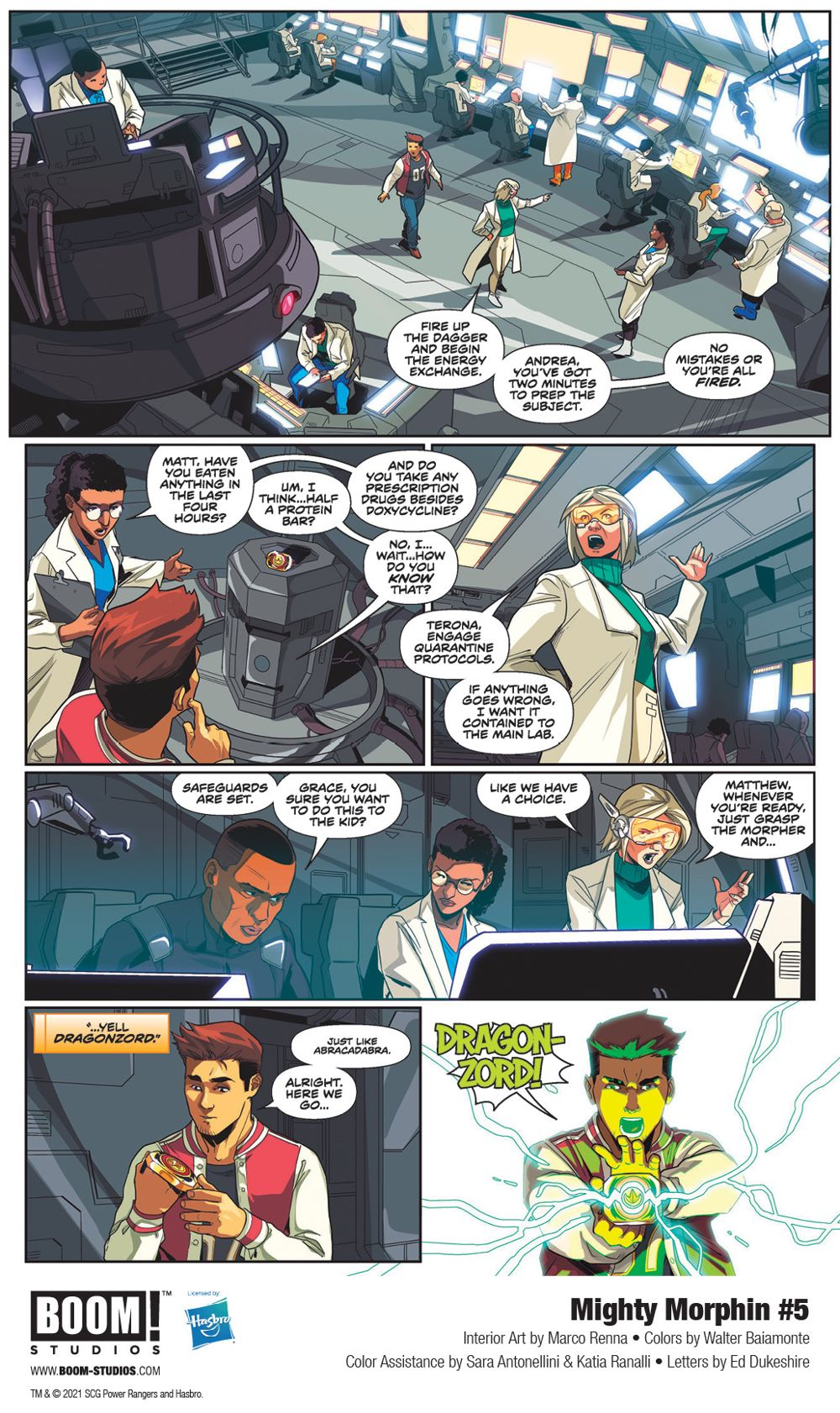 MightyMorphin_005_InteriorArt_003_PROMO First Look at BOOM! Studios' MIGHTY MORPHIN #5