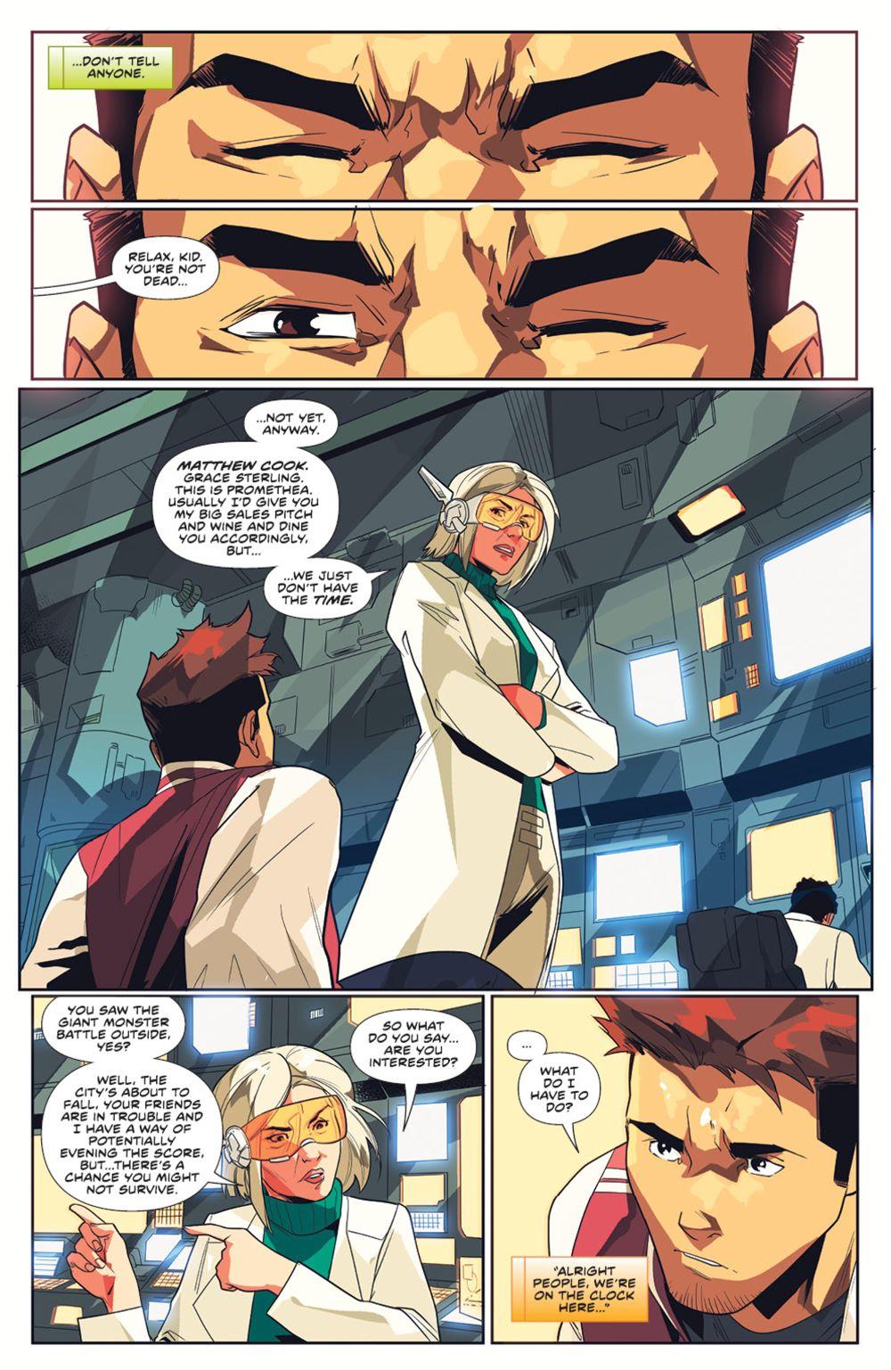 MightyMorphin_005_PRESS_4 ComicList Previews: MIGHTY MORPHIN #5